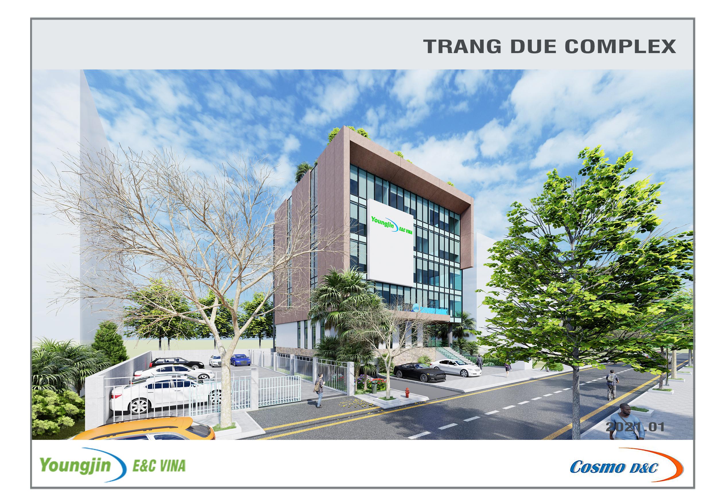 Youngjin E&C Vina Trang Due Complex Building